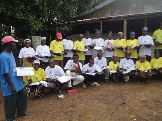 Literacy project beneficiaries