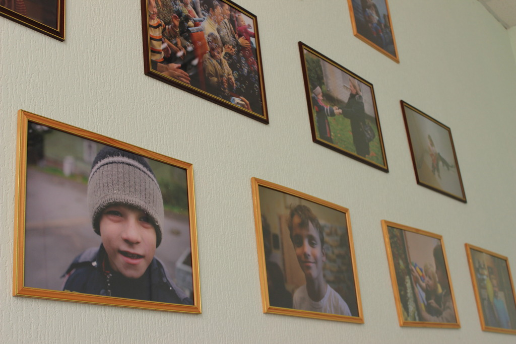 Portraits on the wall