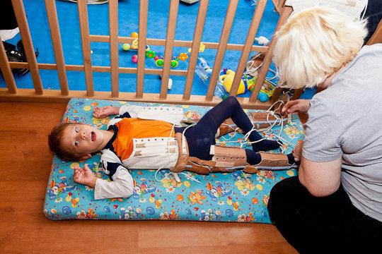 rehabilitation program with the host mother Marina