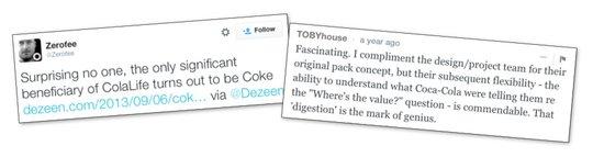 Differing views....