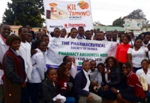 Pharmaceutical Society of Zambia back Kit Yamoyo