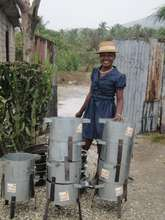 Altise has added efficient cookstoves to her shop