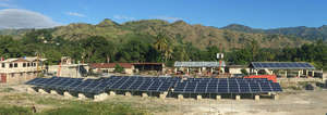 90 kilowatts of solar powers the grid