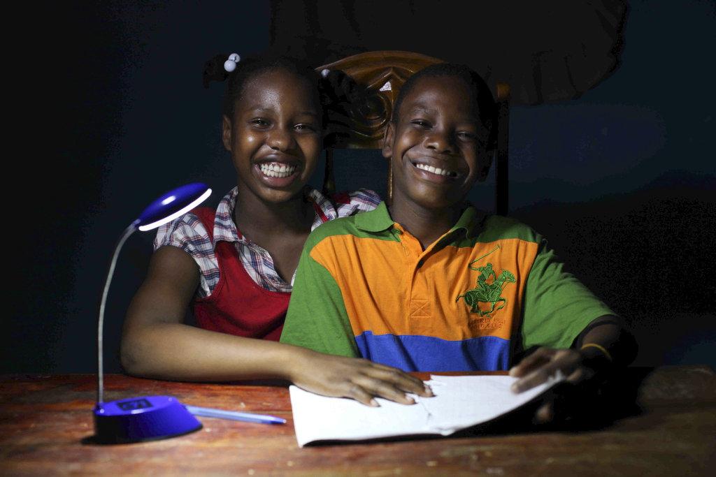 The joy of studying with smoke-free light!