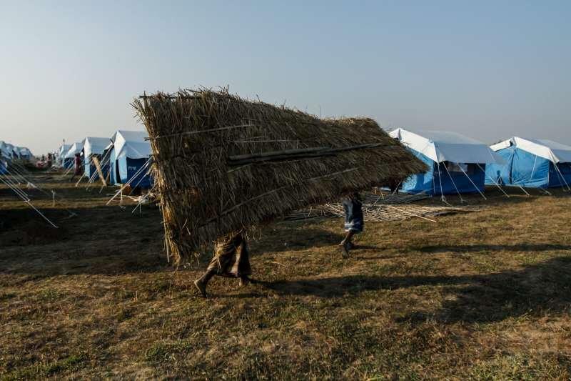 Shelter is vital for displaced people in Rakhine