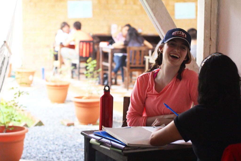 A student at Cambio, our language school