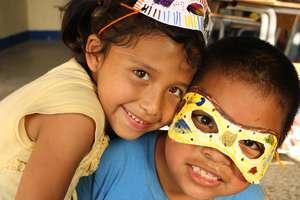 Children with Masks