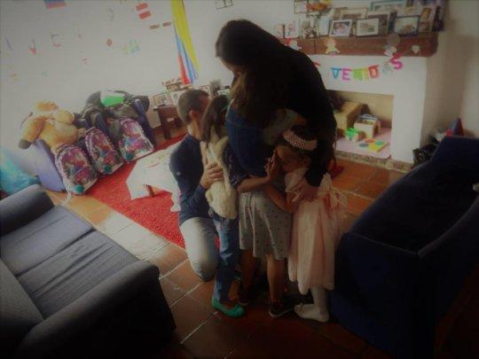 Meeting of a family / Encuentro de una familia