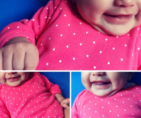 Sara's smile :) La sonrisa de Sara