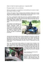 Riders Gambia update - September 2008 (PDF)