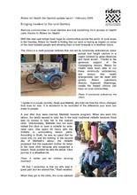 Riders update report February 2009 (PDF)
