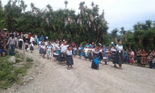 Panatzan community in San Martin Jilotepeque