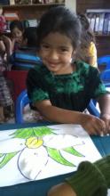 Girl from San Rafael el Arado Sumpango