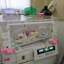 Premature baby receives lifesaving care