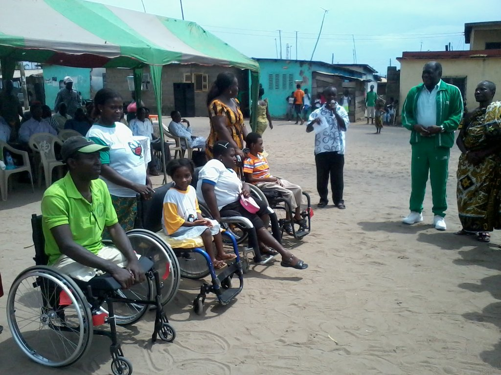Some of the beneficiaries