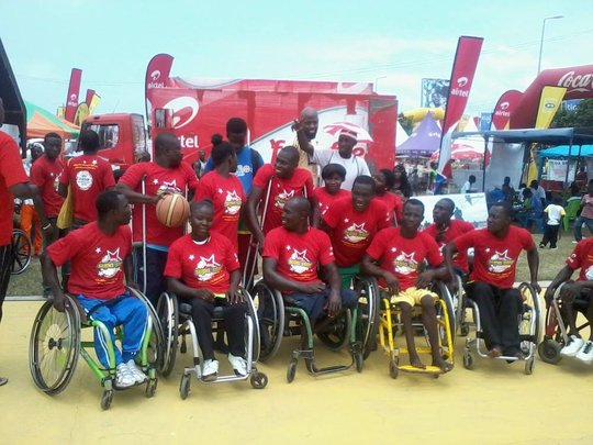 Wheels4Hope during this year Afahye Basketball