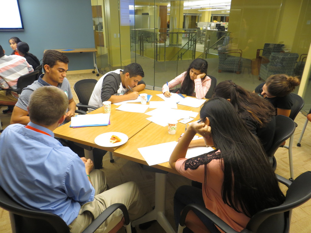 ELP II seniors writing college essays
