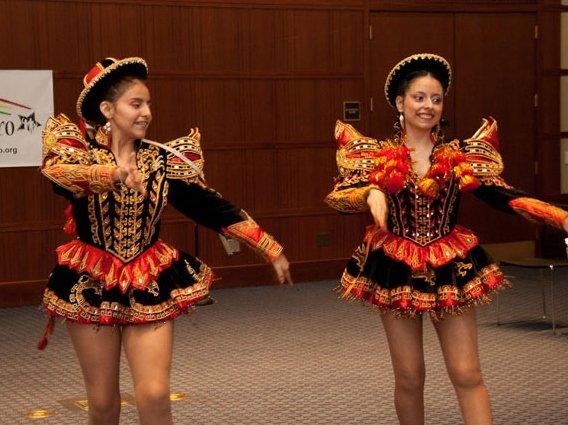 Cousins Rebeca & Lorena--2012 2nd prize winners