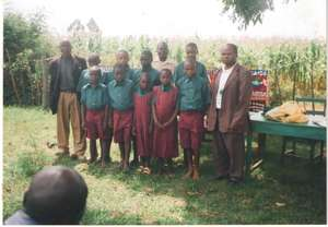 Orphans Supported with School Uniform