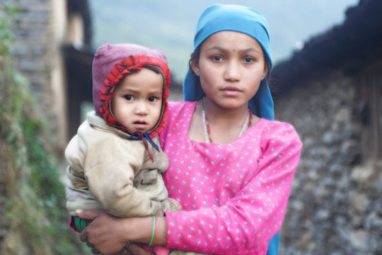 Young people in the villages of Northern Dhading