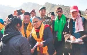 Nepal's Livestock Minister Visits HHC Programs