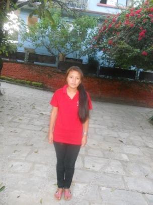 Mamita arrives in Kathmandu for her studies