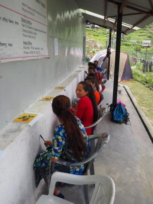 Midwife Selection Written Exam, HHC office Sertung