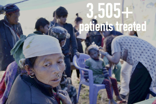 HHC has carried out ongoing clinics for victims