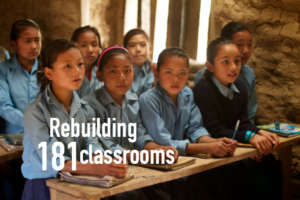 HHC is building 20 schools in northern Dhading