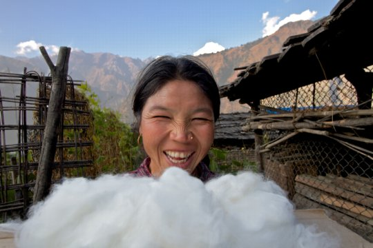 Woman Business Owner with Angora