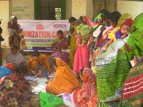 Immunization of girl children