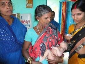 New born girl child at ARM PHC