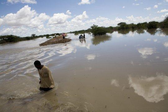 Flooding in Kenya  UNHCR/B. Bannon