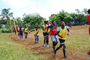 Soccer Program in Lebrun, Haiti