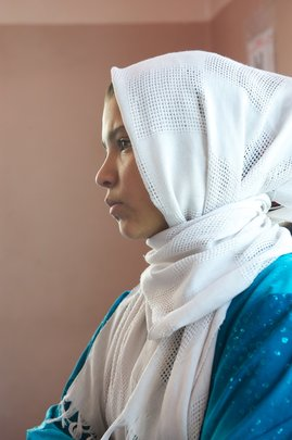 A Young Afghan Woman
