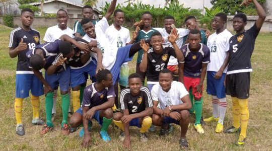 Older boys at Kosala