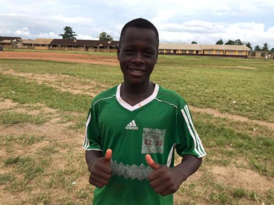 Lobe was the goal-scorer of the day!