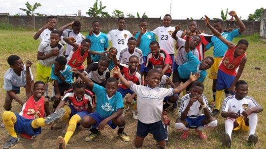 Younger boys at Kosala