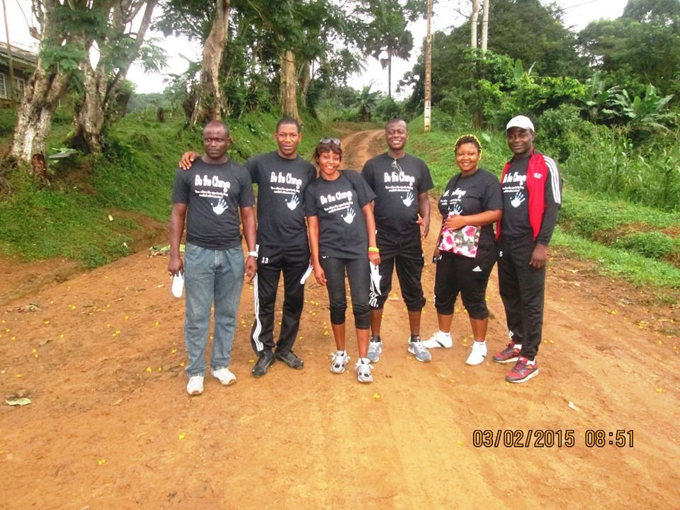 CFDP Staff take a walk through Kumba \