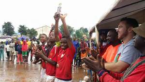 Champions lift the Super Cup in Jubilation!