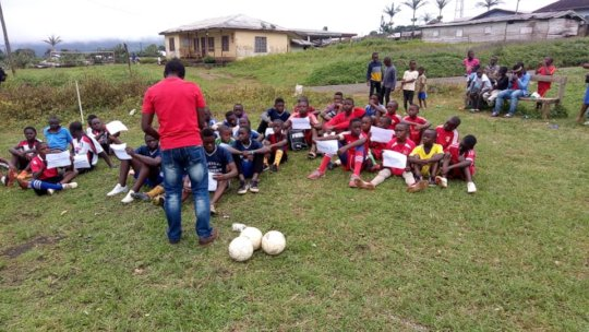 Our partner in Mamfe brings youth together