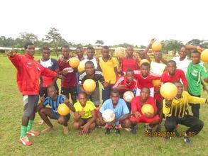 Kumba Arsenal FC - one of the U-14 clubs with CFDP