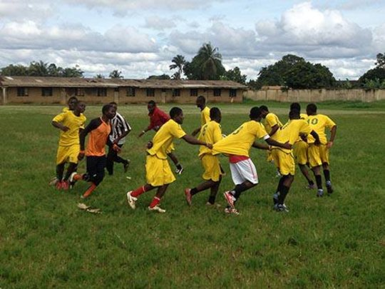Team games combine sport and learning