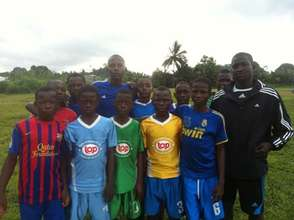 St. Peters FC - a new club created by CFDP coach
