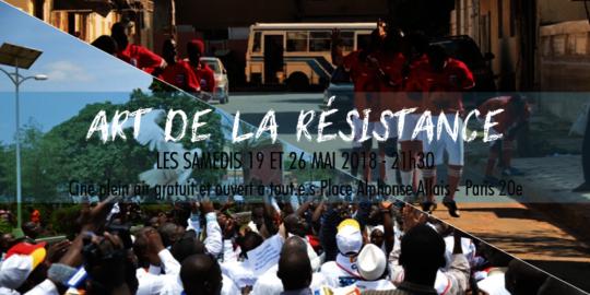 Art of the Resistance Screening Poster in Paris