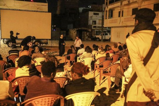 Dakar Screening. Photo Credit- @sauvallegenevieve