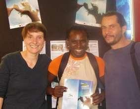 Seyni and Helene discuss LT at Film Festival (PDF)