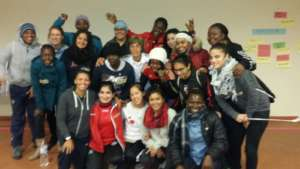 Group Photo- Women coaches from 18 countries!