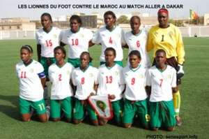 Senegalese Women's Team that Dr. Diallo treats