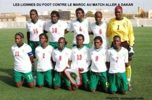 Senegalese Women's Team that Dr. Diallo treats